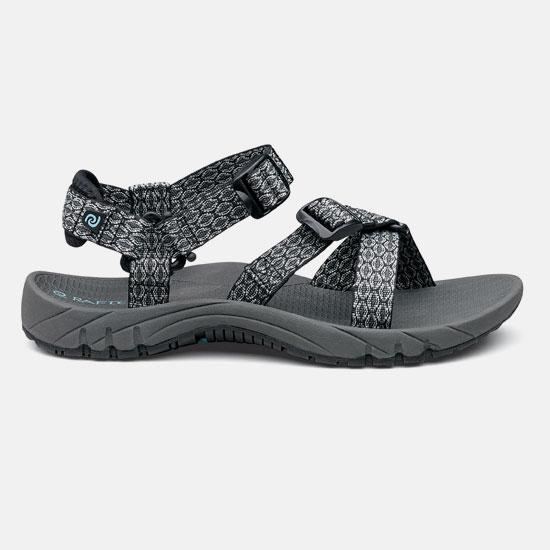 【露營趣】中和 美國 RAFTERS 70218R 灰色女運動涼鞋 水陸鞋 海灘鞋 沙灘鞋 比keen價格優