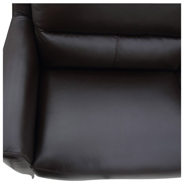 ◎HTL高級全皮3人用沙發 H066 DBR NITORI宜得利家居 4