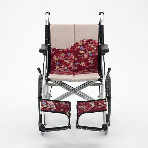 """全勝醫療保健快速購:""""三大均""""機械式輪椅(未滅菌)日本MIKI鋁合金輪椅MPR-2櫻花系列"""
