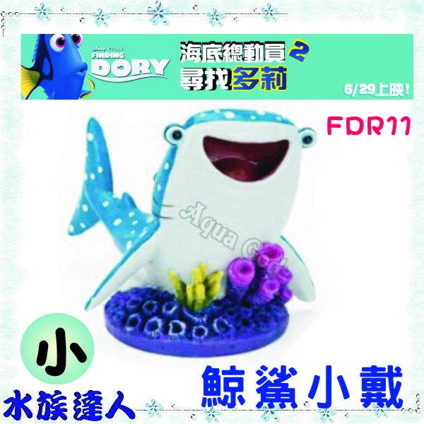 海底總動員2尋找多莉FINDING DORY《鯨鯊小戴(小)E-D2-FDR11》裝飾品公仔 【水族達人】