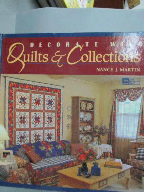 ~書寶 書T7/ _ZHH~Decorate with Quilts and Collec