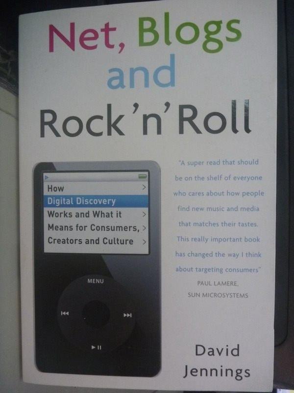 【書寶二手書T5/電腦_ZCG】Net, Blogs and Rock nRoll