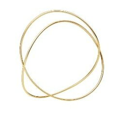 喬治傑生(GEORG JENSEN)-Alliance Bangle in 18ct Gold手環-S