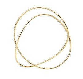 喬治傑生(GEORG JENSEN)-Alliance Bangle in 18ct Gold手環-S