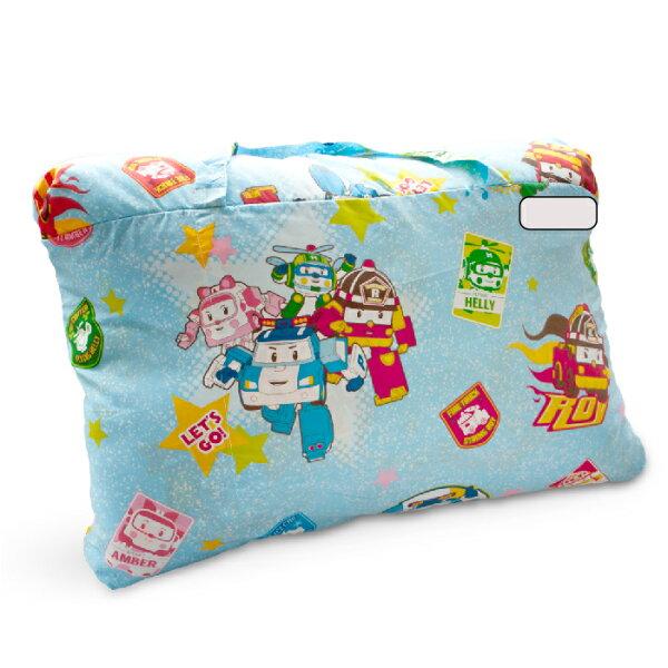 【名流寢飾家居館】波力POLI.兩用鋪棉兒童睡袋.全程臺灣製造