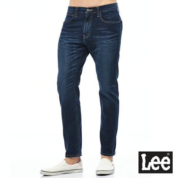 Lee705中腰標準舒適小直筒牛仔褲RG
