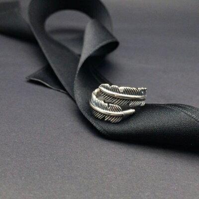 925純銀戒指銀飾-日韓經典素雅葉子生日情人節禮物女飾品73ic46【獨家進口】【米蘭精品】