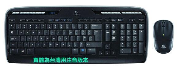 ☆宏華資訊廣場☆羅技LogitechMK330無線滑鼠鍵盤組電池壽命最長可達24個月
