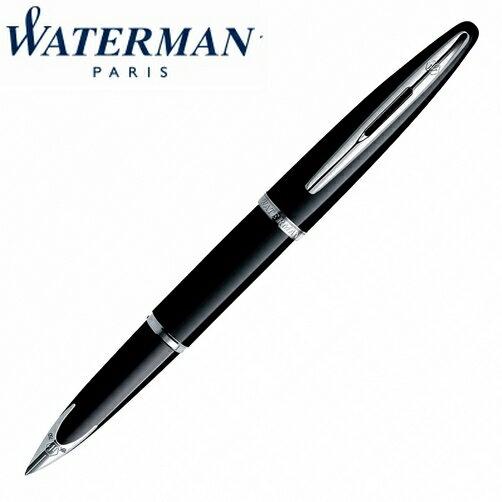【華特曼WATERMAN】頂級海洋系列純黑白夾鋼筆18K筆尖FW0293970支