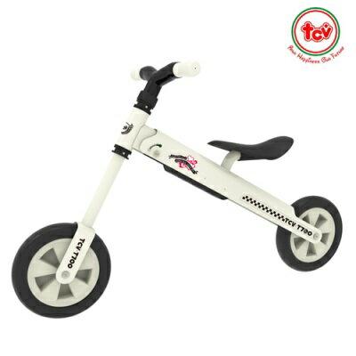 ※§TCV 摺疊式平衡滑步車T700-時尚白