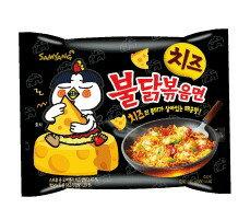 【橘町五丁目】韓國 三養噴火辣雞肉起司風味炒麵泡麵-4袋入