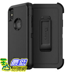 [106美國直購] 手機保護殼 OtterBox DEFENDER SERIES Case for iPhone X (ONLY) Frustration Free Packaging