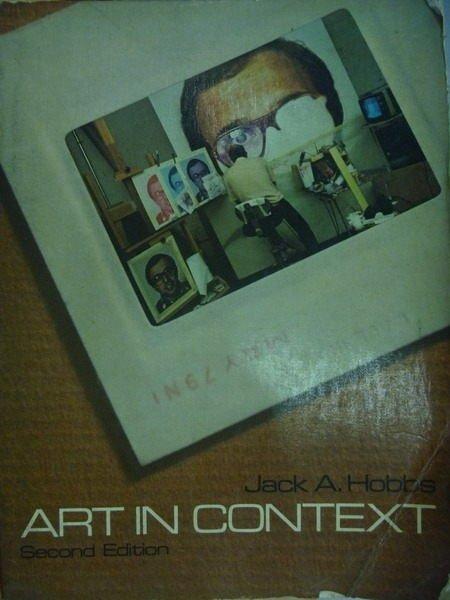 ~書寶 書T3/藝術_YIF~Art in Context_2 e_Jack A. Hob