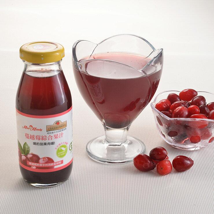 <br/><br/>  【GE大地天然】美國威州蔓越莓綜合果汁(24入-2箱)<br/><br/>