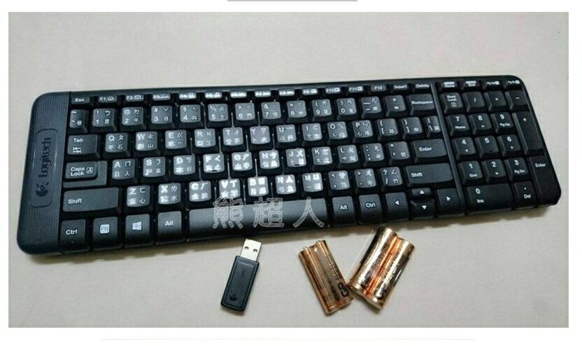 羅技 mk220 無線鍵盤滑鼠組 電競滑鼠電競鍵盤 桌上型電腦 筆記型電腦 電腦周邊 4