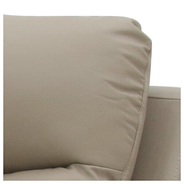 ◎(OUTLET)半皮4人用電動可躺式沙發 MEGA MO 福利品 NITORI宜得利家居 5