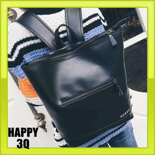 OL上班族通勤大學生大容量拉鍊手提包雙肩包後背包水桶包~灰 黑 粉 藍~AAA0814~