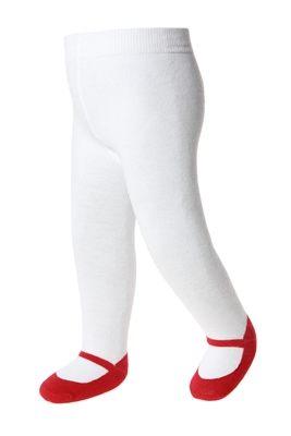 美國 Baby Emporio 造型棉襪 瑪莉珍 褲襪 嬰兒襪 襪子 紅色 0-6M 6-12M