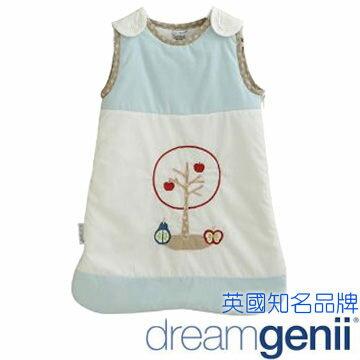 英國 Dreamgenii 防踢被嬰兒睡袋 Sleeping Bag 粉藍色水果 S號