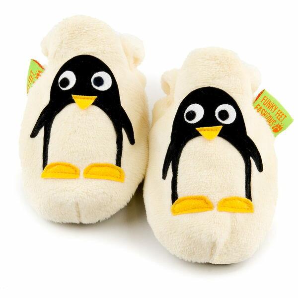 英國 Funky Feet 手工學步鞋 室內鞋 小企鵝 6-24M