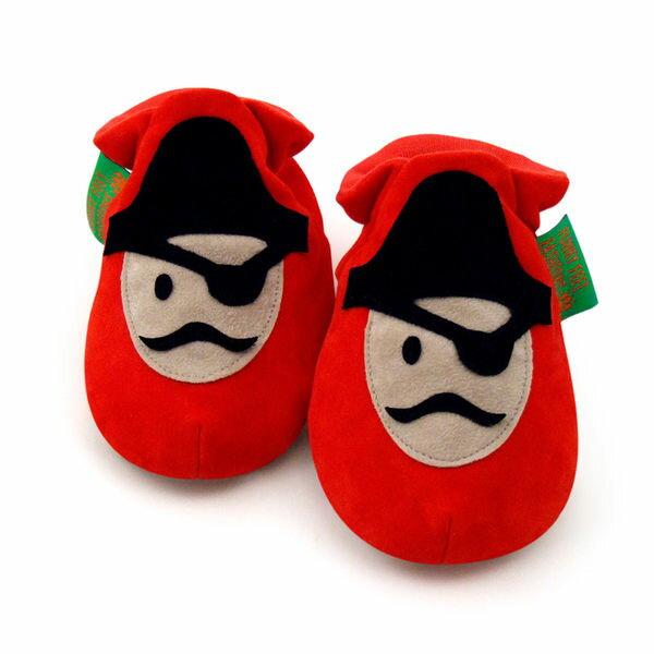 英國 Funky Feet 手工學步鞋 室內鞋 小海盜 6-24M