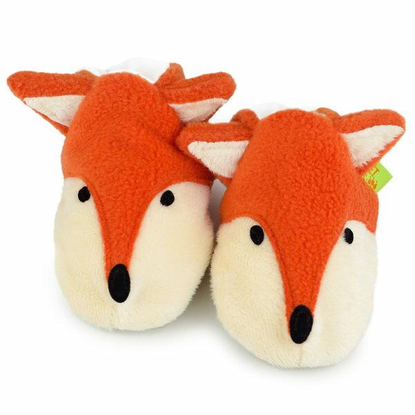 英國 Funky Feet 手工學步鞋 室內鞋 小狐狸 6-24M