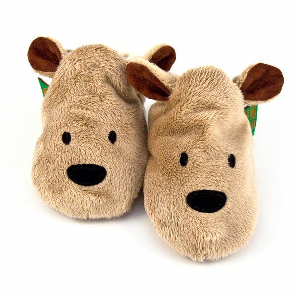 英國 Funky Feet 手工學步鞋 室內鞋 熊熊 6-24M