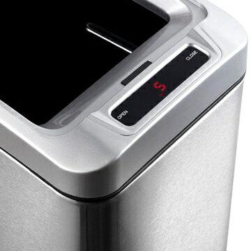 EKO 雅律自動感應不鏽鋼垃圾桶 8L 3
