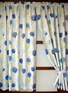 遮光窗簾(70-80%)#544三種尺寸*適用穿桿軌道*