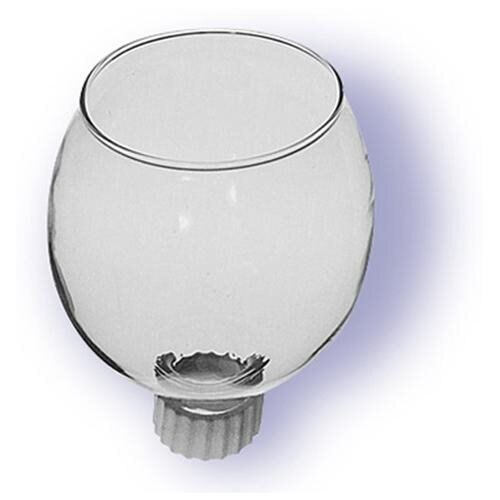 Round Clear Glass Votive Holder Has Mounting Peg That Fits Standard Candle Holders Ctn Of 12