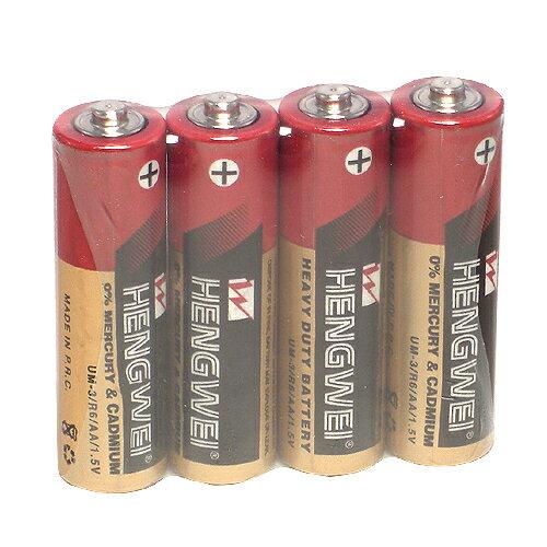 《于卉情趣精品》【HENGWEI】3號環保碳鋅電池(4顆入)
