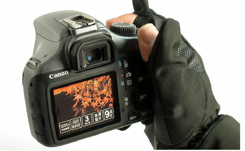 攝彩@Canon適用攝影手套 適合防寒、寒流、高山、下雪等氣候,智慧型手機、平板電腦亦適用。