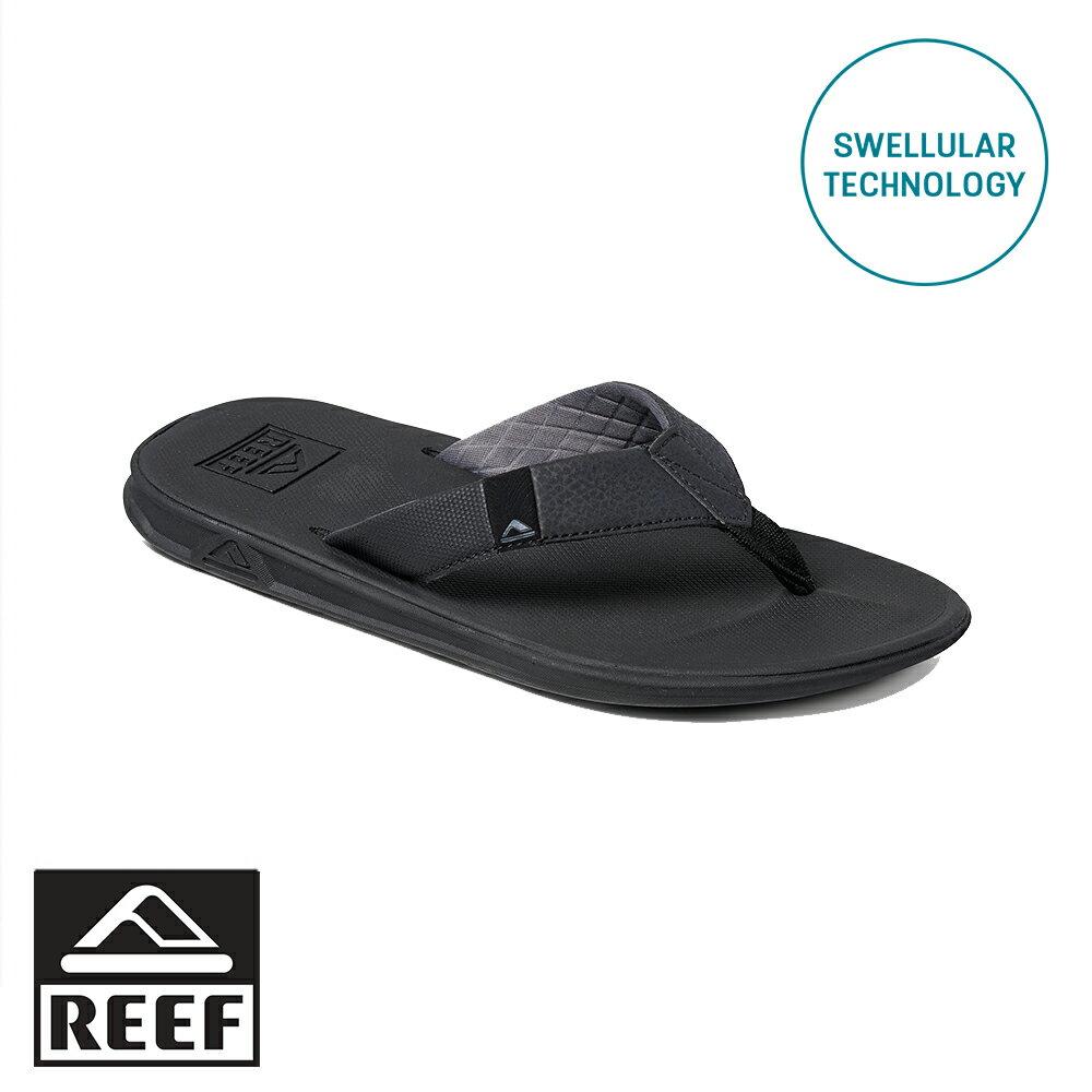 REEF SWELLULAR 平織細版織帶 男款夾腳拖 人字拖鞋  . 黑 RF002805BLA - 限時優惠好康折扣