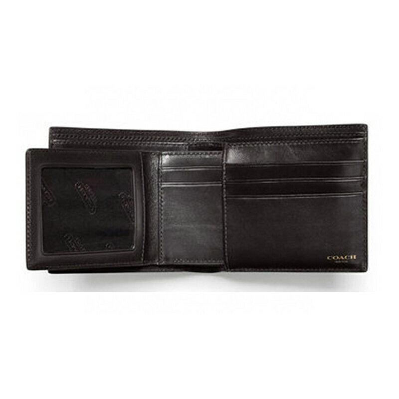 【COACH 時尚男士短夾】COACH 74586 BLEECKER系列短夾男士錢包可拆卸獨立名片夾短款 3