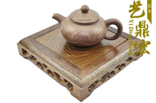【藝鼎宏】紅木工藝品奇石底座石頭底座玉器 盆景 紫砂壺底座