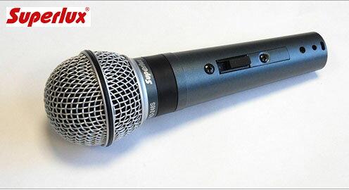 <br/><br/>  舒伯樂 Superlux PRO248S 專業動圈歌唱麥克風 公司貨 保固一年<br/><br/>