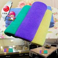布工道-超細纖維擦拭布,29cm x 29cm(一組3入),多用途清潔擦拭布、抹布、方巾
