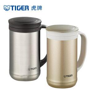 ◤含泡茶專用濾網◢ TIGER 虎牌 500cc 不鏽鋼保溫保冷辦公杯 MCM-T050