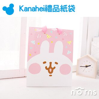 NORNS【Kanahei禮品紙袋】中尺寸18×23 正版卡娜赫拉 P助兔兔 MIT手提袋 禮物包裝袋 禮品袋