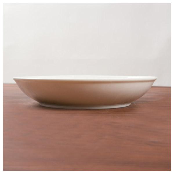白色瓷器 深圓盤 18cm A0062 白色系餐具 NITORI宜得利家居