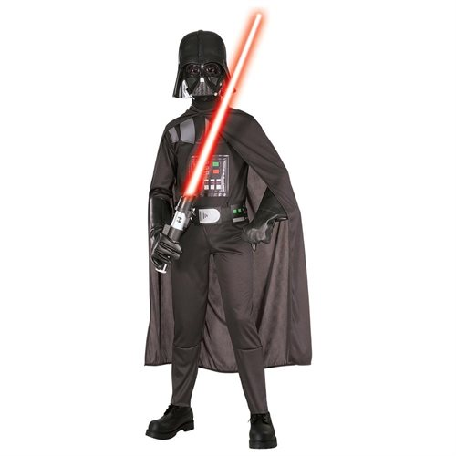 Child Medium Scary Child Darth Vader Costume - Star Wars Costumes 0