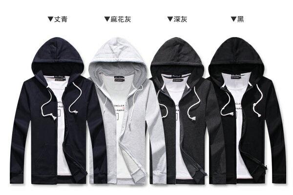 ☆BOY-2☆【NC4011】簡約多色連帽外套 2