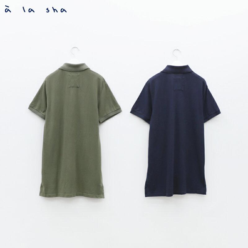 à la sha enco 圓形印花POLO衫(男) 3