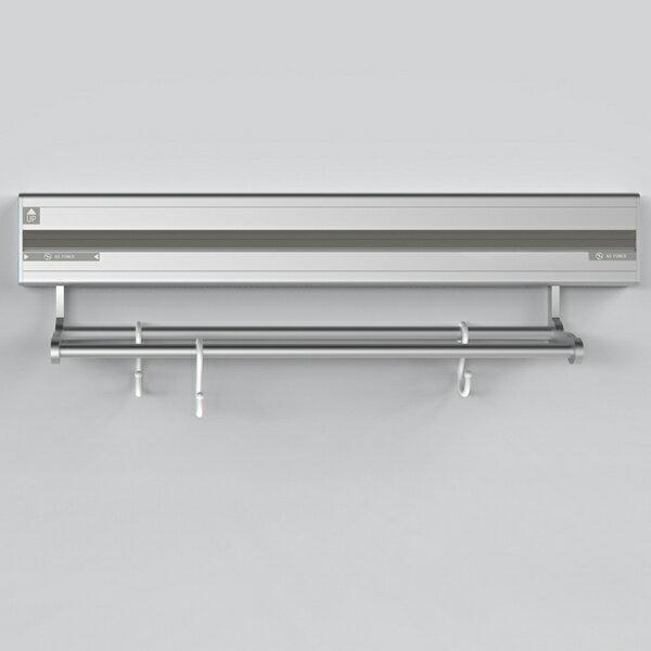 优必克壁掛式移動式插座 鋁掛桿(40cm)含6個掛勾