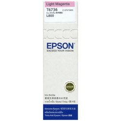 ~EPSON 墨水匣~T673600 淡紅色墨水匣 L800