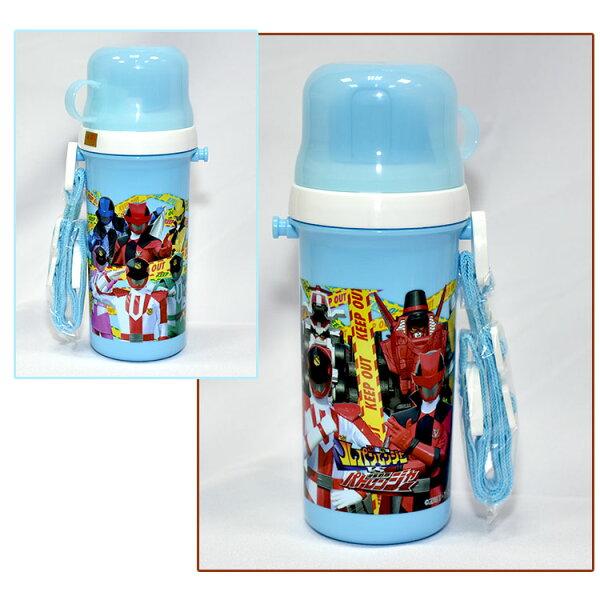 快盗戰隊VS警察戰隊冷溫水壼附水杯可直飲500ml日本製正版商品