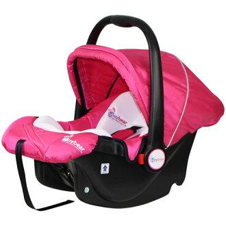 【奇買親子購物網】湯尼熊 Tony Bear 嬰兒提籃汽座(咖啡色/橘色/桃紅色/黑色)