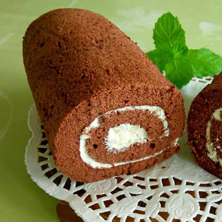 巧克力生乳捲︱德國進口可可粉︱蛋糕捲︱20cm