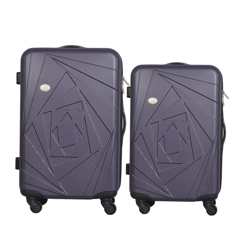 Mon Bagage 巴黎風情系列ABS輕硬殼 28寸 24寸 兩件組 旅行箱 行李箱 2