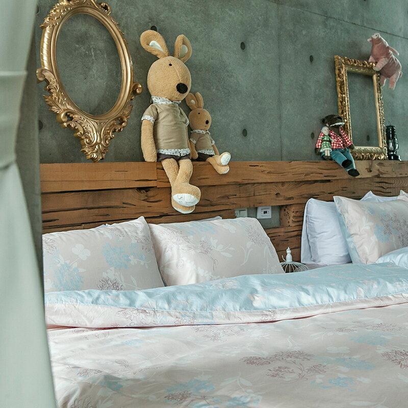 床包兩用被套組  /  雙人-100%精梳棉【奇幻不思議-夢遊愛麗絲】含兩件枕套 冬夏鋪棉兩用被套  奇妙童話時光 戀家小舖 台灣製 1